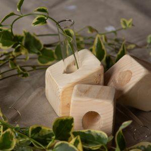 Soliflores obliques à personnaliser en bois de palette